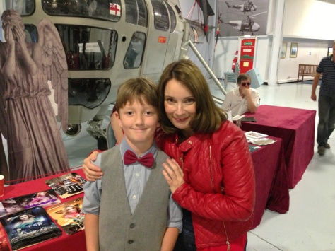 So happy to be meeting a Doctor Who companion!