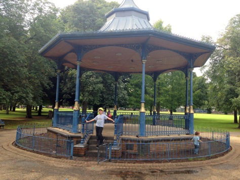 The bandstand - where's the band?