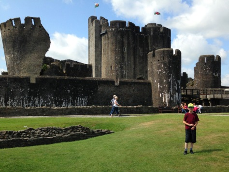 Welcome to Caerphilly Castle