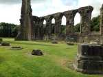 This was once the largest abbey in Wales.