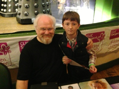 Colin Baker - No 6! The second Doctor I have met.