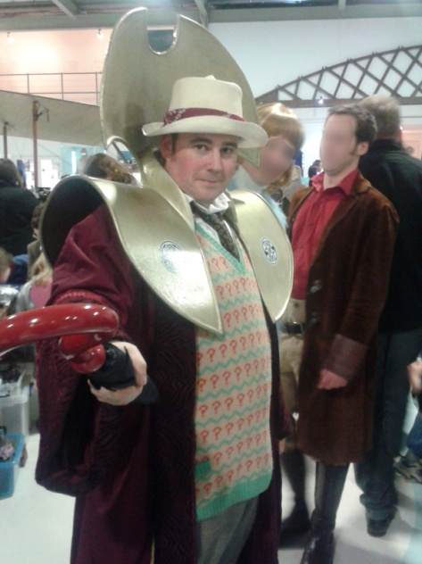 I met the Seventh Doctor from Charfest again.