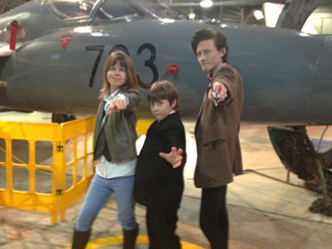 Sarah Jane, The Master and the Eleventh Doctor.