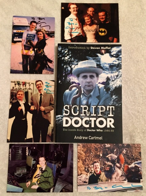 Andrew Cartmel's autographs