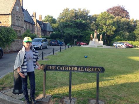 Llandaff Cathedral Green