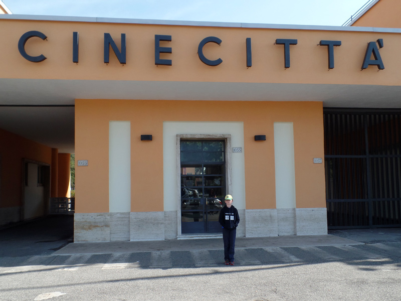 Cinecitta entrance