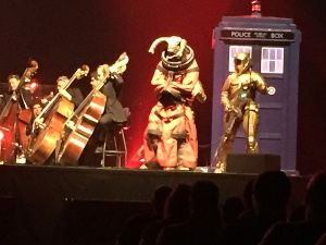 The Teller at the Doctor Who Symphonic Spectacular