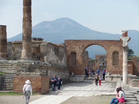 Overlooked by Vesuvius