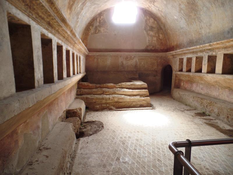 Pompeii bath house