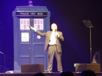 Peter Davison at the Doctor Who Symphonic Spectacular