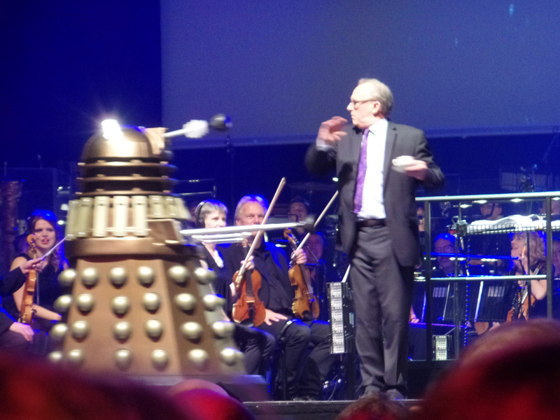 Dalek at Doctor Who Symphonic Spectacular