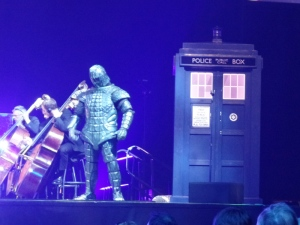 Ice Warrior at the Doctor Who Symphonic Spectacular