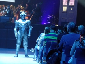 Cyberman at the Doctor Who Symphonic Spectacular