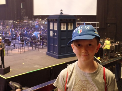 Doctor Who Symphonic Spectacular TARDIS