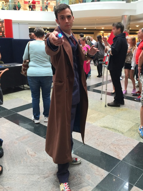 Ash as the Tenth Doctor