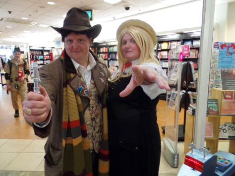 The Fourth Doctor and Romana