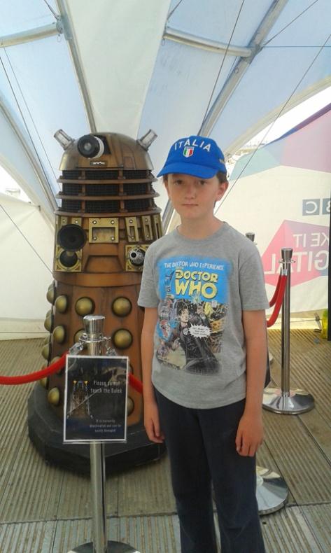 Dalek Selfie at BBC Make It Digital
