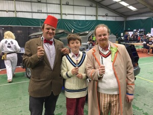 Eleventh and Fifth Doctor Cosplay