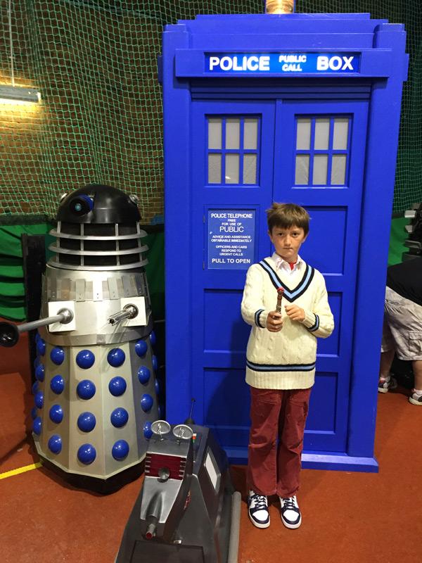 Dalek, TARDIS and K-9
