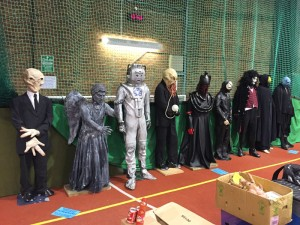 Line-up of Doctor Who monsters