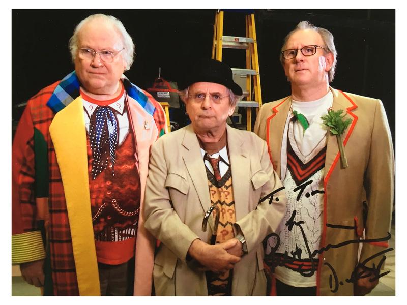 The Five-ish Doctors Reboot