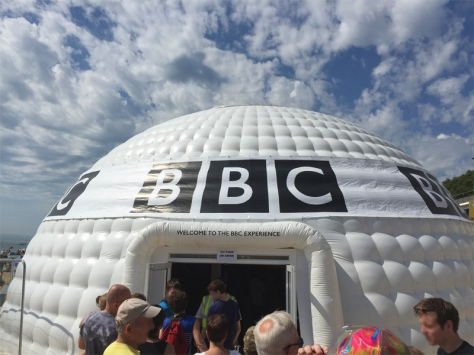Welcome to the BBC Experience Igloo
