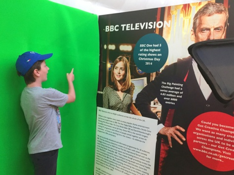 Green screen at Make It Digital