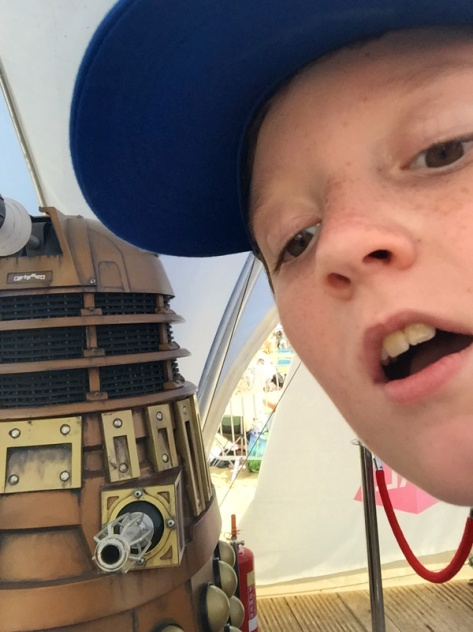 Dalek Selfie at BBC Make It Digital