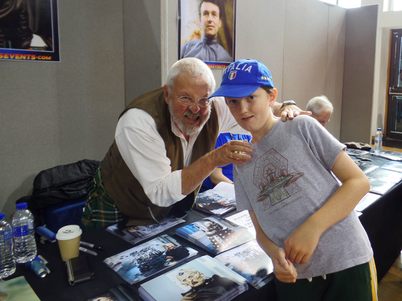 Tom and Terry Molloy