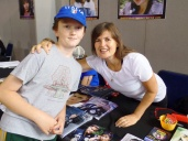 Tom and Sophie Aldred