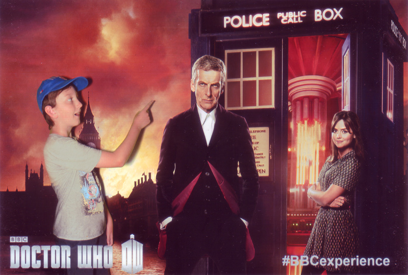 The Doctor and Clara at Make It Digital