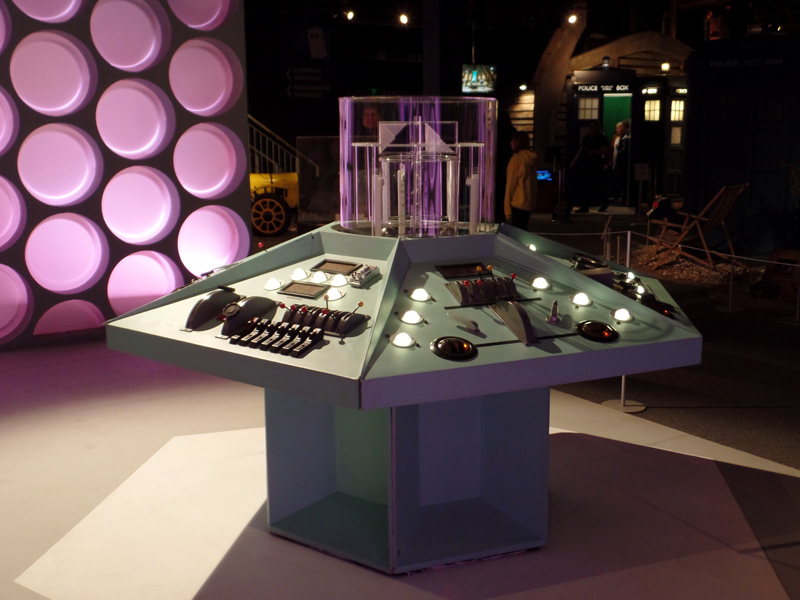 The First Doctor's TARDIS at the Doctor Who Experience