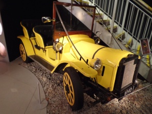 Bessie - The Third Doctor's car at the Doctor Who Experience