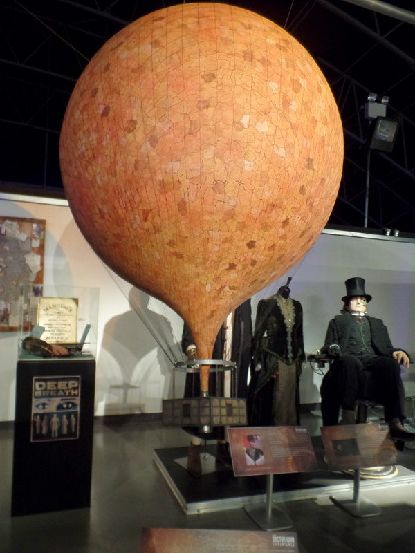 Balloon from Deep Breath at the Doctor Who Experience