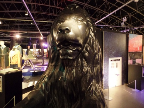 A lion from 'In The Forest of the Night' at the Doctor Who Experience