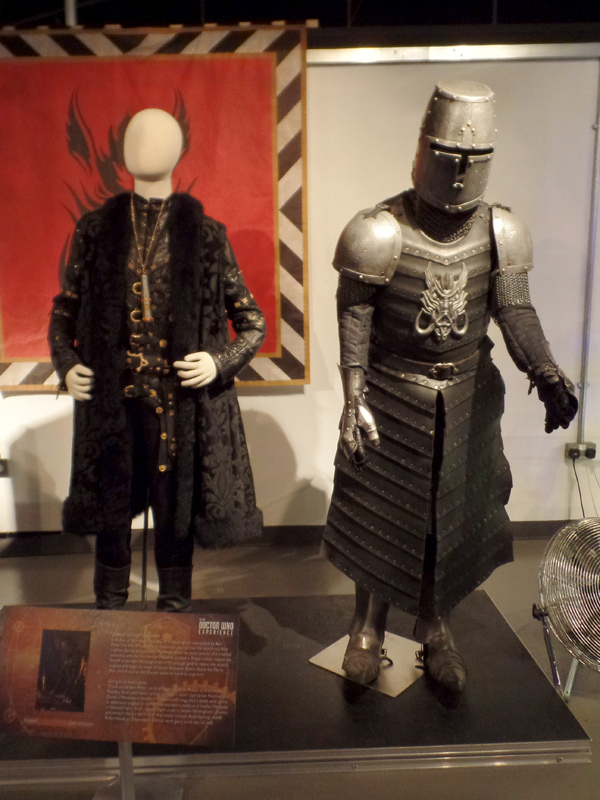 The Sheriff of Nottingham and Robot of Sherwood at the Doctor Who Experience