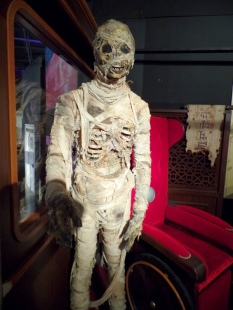 The Foretold from Mummy on the Orient Express at the Doctor Who Experience