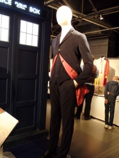 The Twelfth Doctor's costume at the Doctor Who Experience