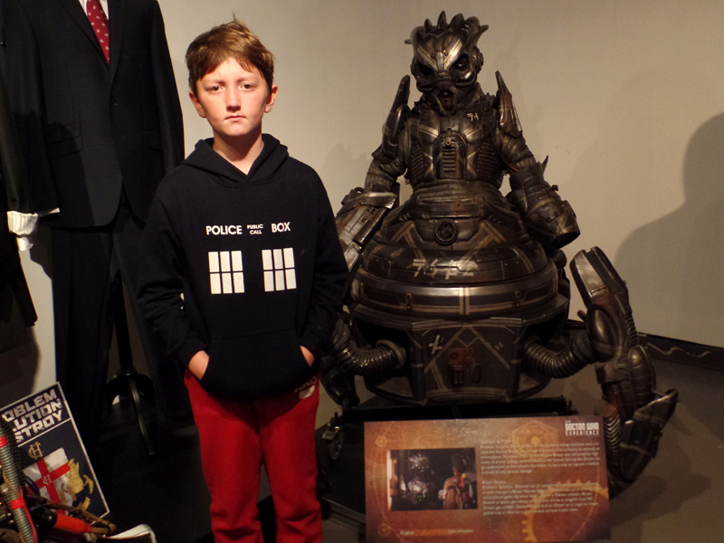 The Skovox Blitzer from The Caretaker at the Doctor Who Experience