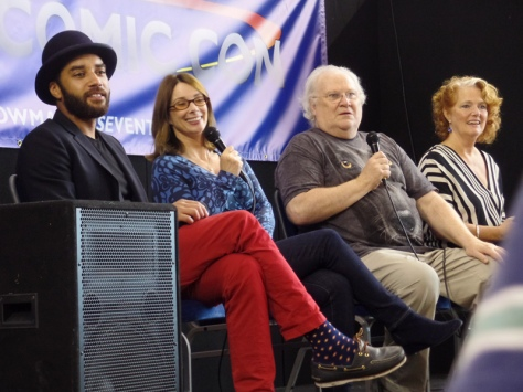 Sam, Nicola, Colin and Louise at the Q&A