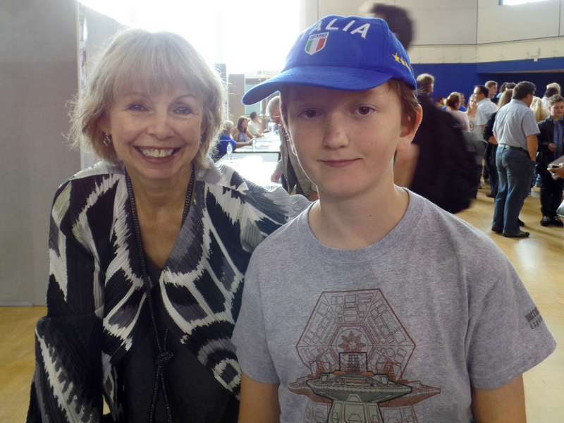 Tom and Lalla Ward