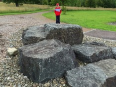 Silurian Rocks at the National Botanic Garden of Wales