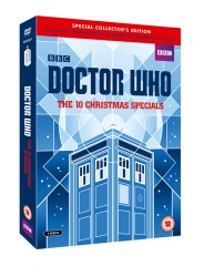 Doctor Who The 10 Christmas Specials cover