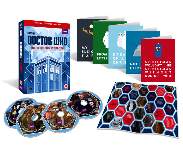 Doctor Who The 10 Christmas Specials contents