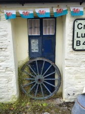 A TARDIS at the West Wales Museum of Childhood