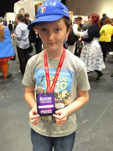 Tom's Press Pass for the Doctor Who Festival