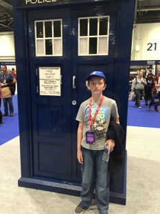 The Lego TARDIS at the Doctor Who Festival
