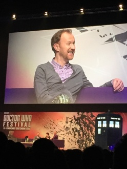 Mark Gatiss at the Doctor Who Festival
