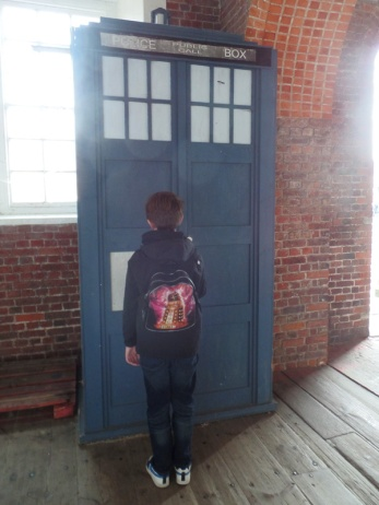 The TARDIS at Portsmouth Historic Dockyard