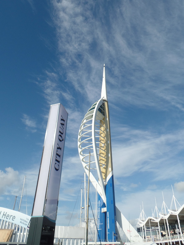 City Quay at the Spinnaker Tower